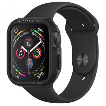 VỎ BẢO VỆ APPLE WATCH 40MM SPIGEN RUGGED ARMOR (ĐEN)